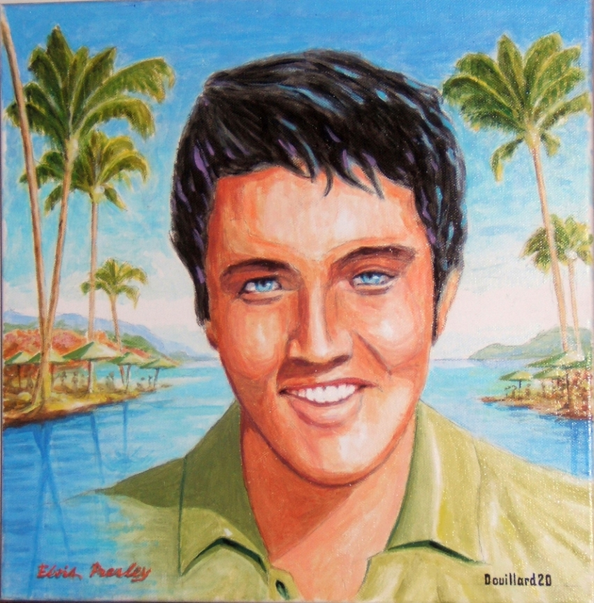 Elvis Presley por Douillard